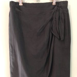 J. Crew Skirts - NWT J. Crew Faux Wrap skirt in Japanese Cupro - 6